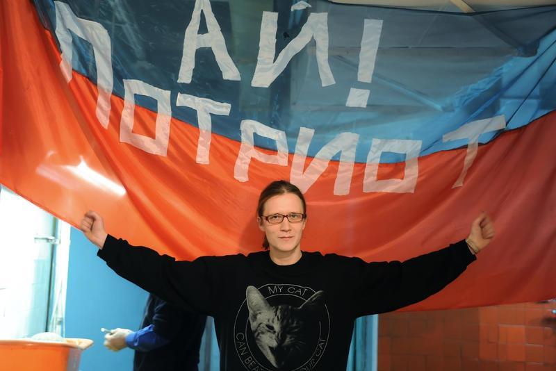Интервью Василия Субботина на открытии его выставки «Ай Потриот» в «SUPER gallery», Краснодар