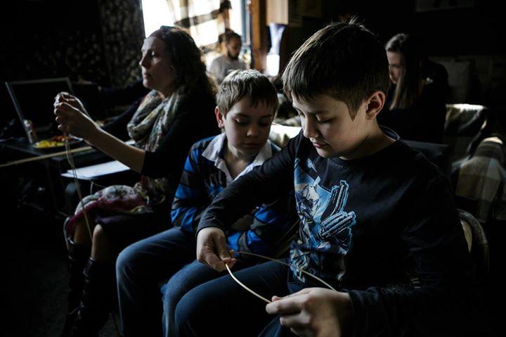 Детский лагерь в «Типографии»