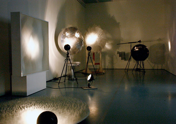 Одна из выставок группы Zero.