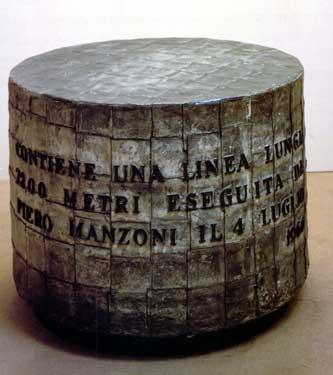 Линия Пьеро Манцони в специальной капсуле.