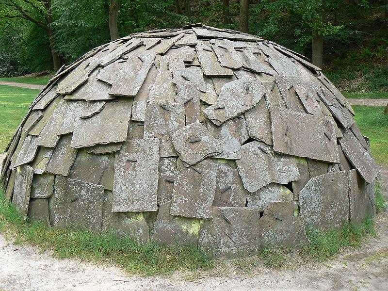 Arte povera. Марио Мерц. Иглу из Камня