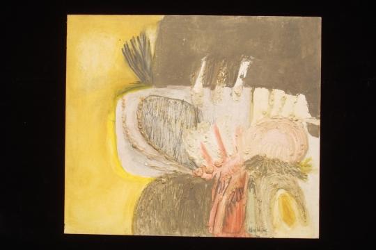 Hannah Wilke: Pastel on Board, 1960's
