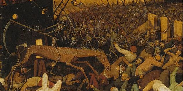 Питер Брейгель Старший. Триумф смерти (фрагмент)