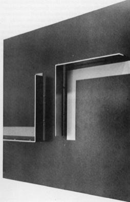 Джон Чемберлен, Конрад, 1964 Автолак, металлическая стружка на хромовых формах