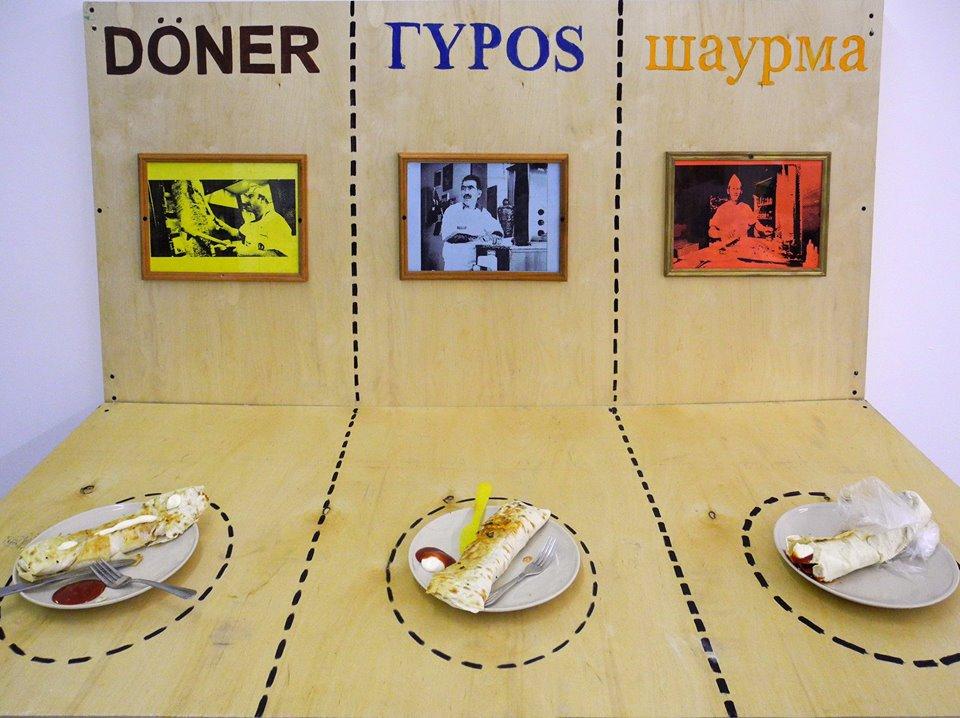 Арт-шаурма на Арт-кухне и дискуссия-воркшоп на тему городской еды и миграции на выставке Демонтаж