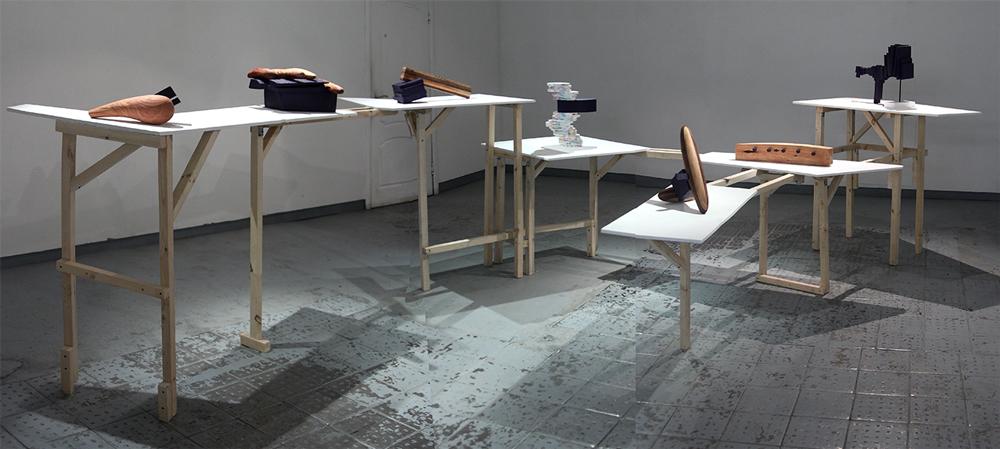 Выставка Валерия Казаса «Фиксация синего» в галерее RedGift