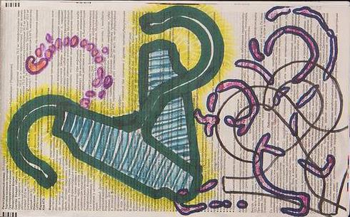 """""""Вешалки-плечики, ножницы в искусстве и плетенка для ключей"""" выставка Валерия Скрипченкова (Свидетеля)"""