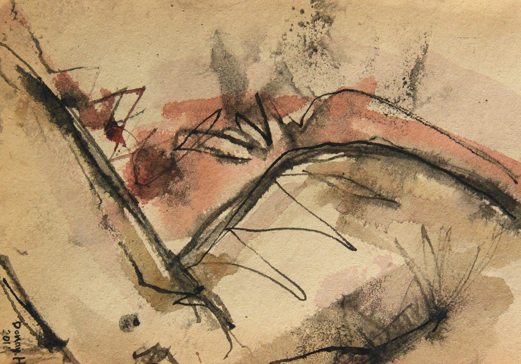 Выставка сирийской художницы Donay Habbak «Unfinished» в галерее RedGift